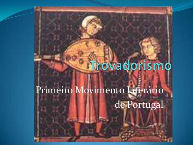 Primeiro Movimento Literáriode Portugal