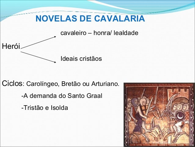NOVELAS DE CAVALARIA TROVADORISMO PDF DOWNLOAD