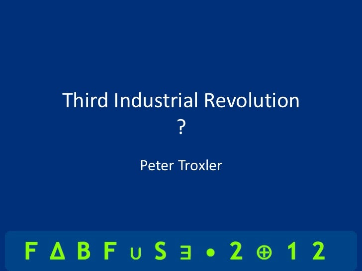 an analysis of the first phase of the industrial revolution First industrial revolution 1840-1890 (phase 2) in the history of project management the second part to the first industrial revolution began around 1840 with the development of all-metal machine tools in the first two decades of the nineteenth century.