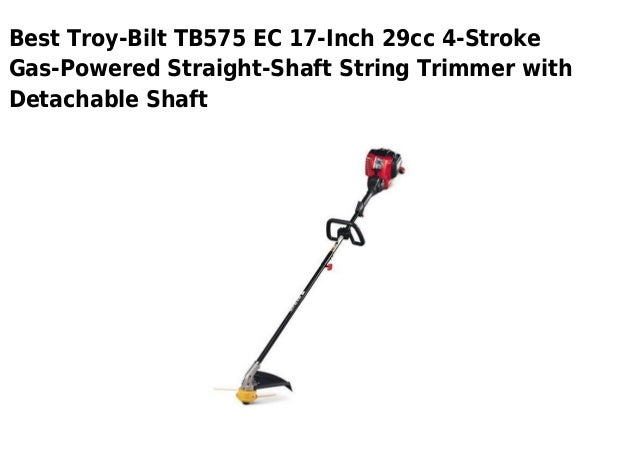 Troy bilt tb575 ec 17-inch 29cc 4-stroke gas-powered