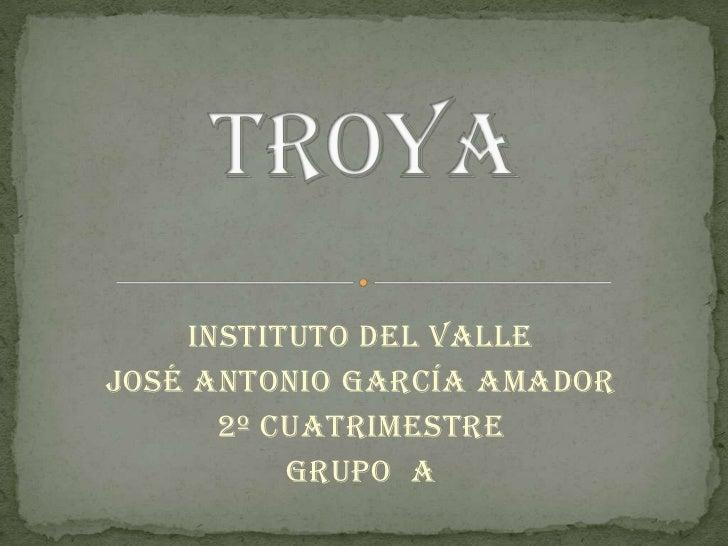 Instituto del valleJosé Antonio García amador      2º cuatrimestre          Grupo a