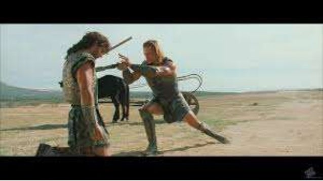 troy movie lesson plan