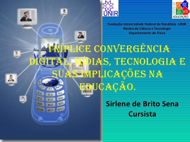 Fundação Universidade Federal de Rondônia -UNIR                       Núcleo de Ciência e Tecnologia                      ...