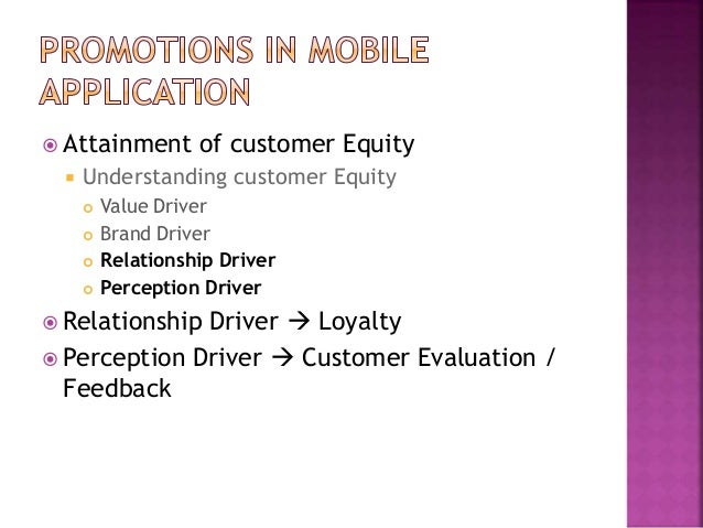 Customer Engagement On Mobile Application Research
