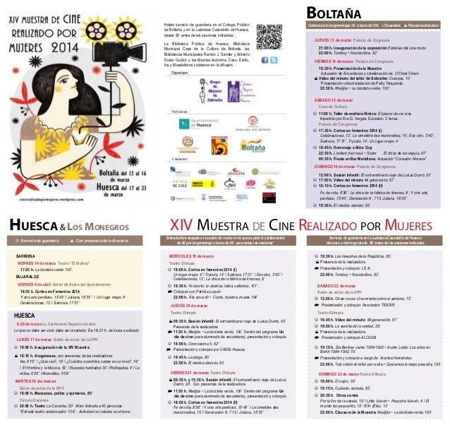 Boltaña  Habrá servicio de guardería en el Colegio Público de Boltaña y en la Ludoteca Cascabillo de Huesca, desde 20' ant...