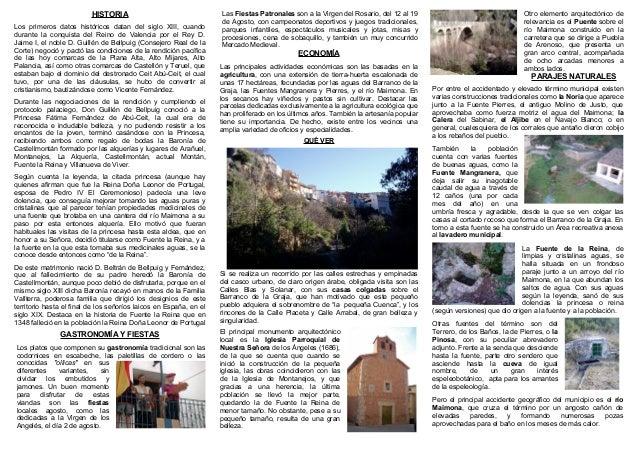 HISTORIA Los primeros datos históricos datan del siglo XIII, cuando durante la conquista del Reino de Valencia por el Rey ...