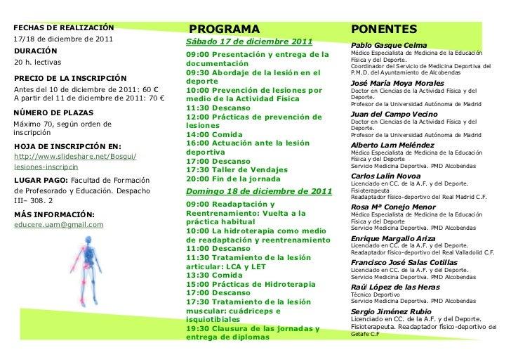 Tríptico prevención actuación_y_tratamiento_ante_ la_ lesión_ deporti…