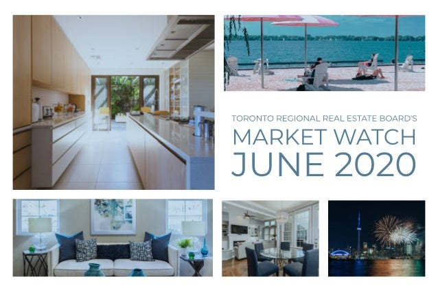 Market Watch Market Watch GTA REALTORS Release June 2020 Stats Toronto Regional Real Estate Board President Lisa Patel ann...
