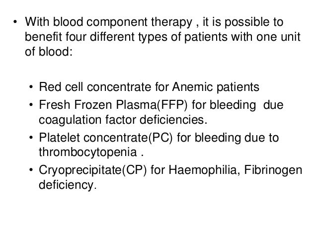 Transfusion reactions and blood products