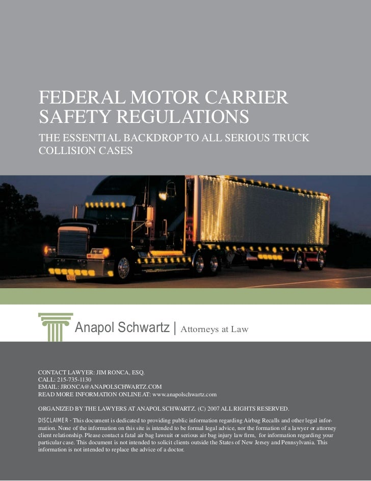 Section 391 of the federal motor carrier safety for Federal motor carrier safety regulations