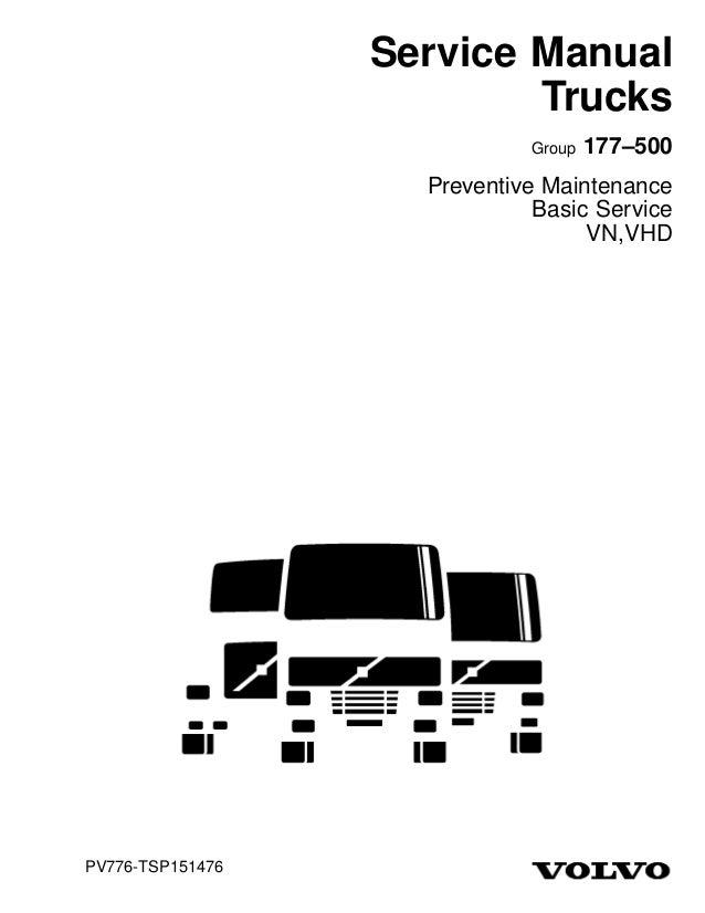 truck service manual rh slideshare net 97 Volvo 960 Repair Manual 97 Volvo 960 Repair Manual