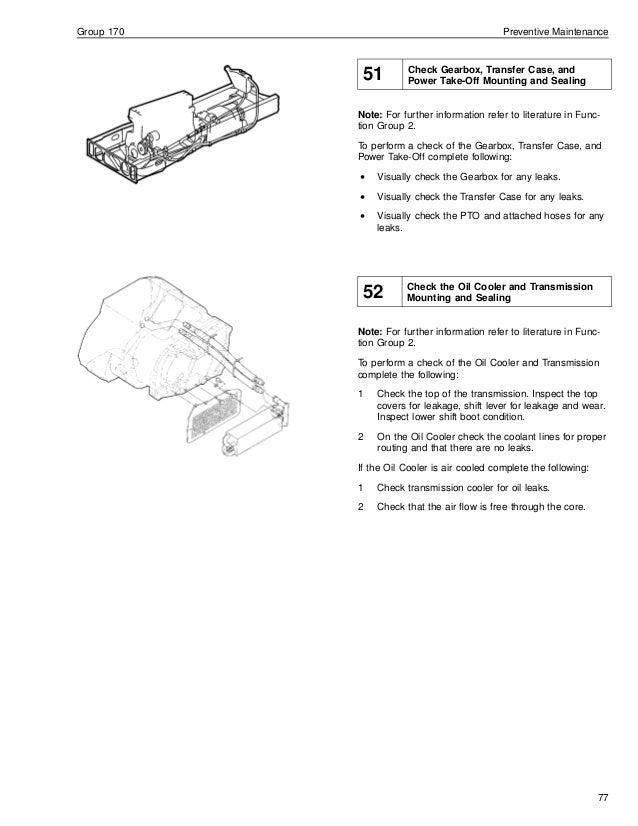 Truck service manual