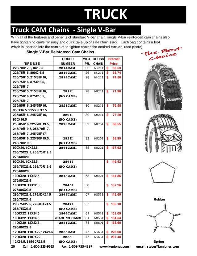 Truck Tire Size Chart Morenpulsar