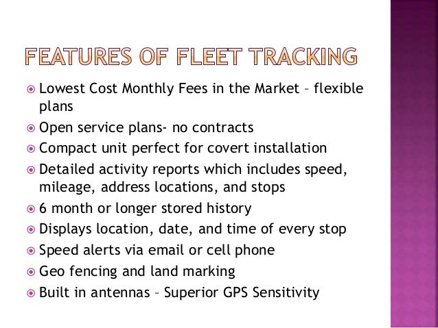  Lowest Cost Monthly Fees in the Market – flexible plans  Open service plans- no contracts  Compact unit perfect for co...