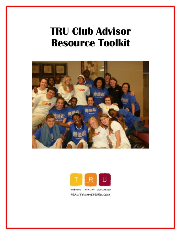 TRU Club Advisor Resource Toolkit