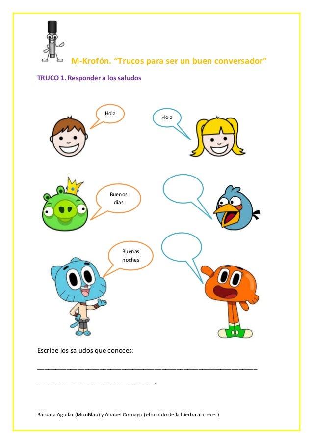 """Bárbara Aguilar (MonBlau) y Anabel Cornago (el sonido de la hierba al crecer) M-Krofón. """"Trucos para ser un buen conversad..."""