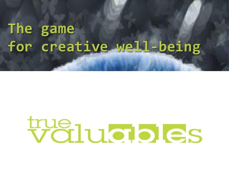 The game for creative well-being      von