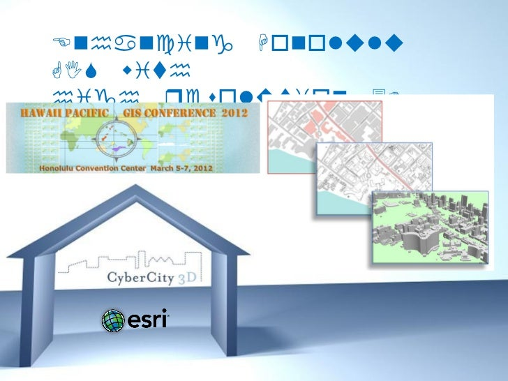 Enhancing HonoluluGIS withhigh resolution 3DBuildings       Free Powerpoint Templates                                   Pa...