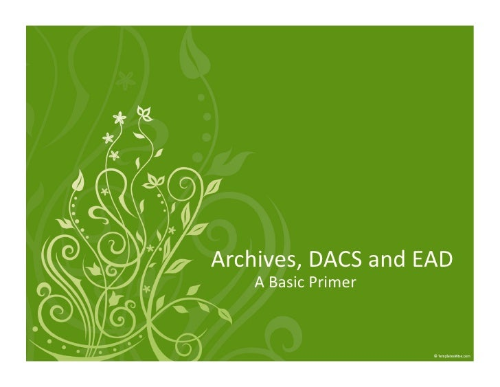 Archives,