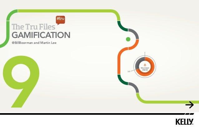 4  e Tru Files  GAMIFICATION  9 3.5  TRU HEAT  INDEX  @BillBoorman and Martin Lee