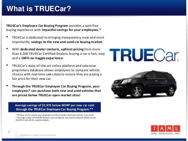 TrueCar Presentation