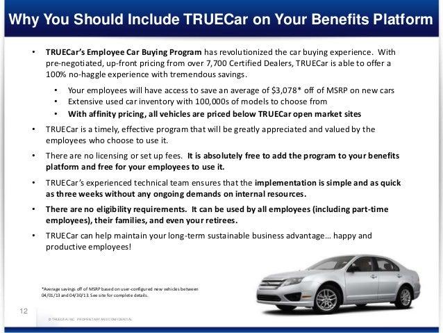 Car Buying Sites >> True Car Presentation