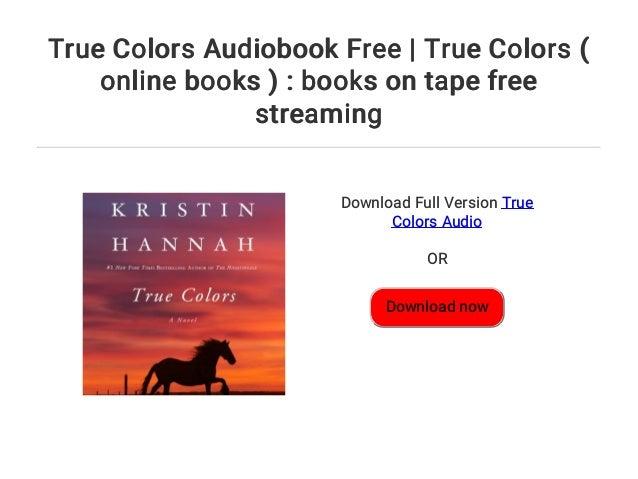 True Colors Audiobook Free True Colors Online Books Books On