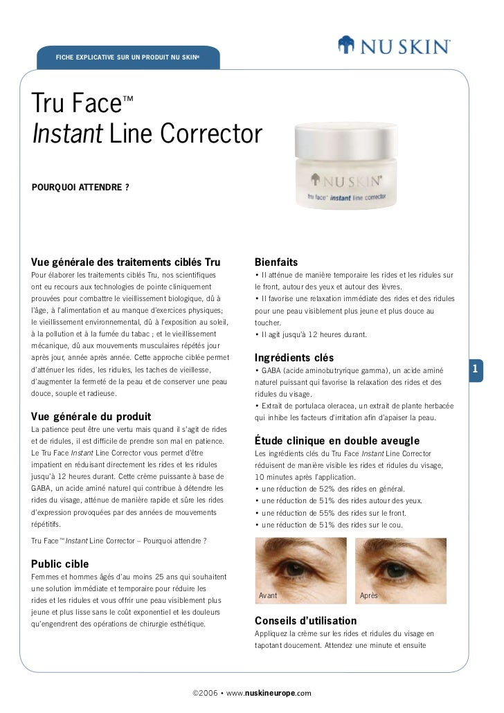 True Face Instant Line Corrector