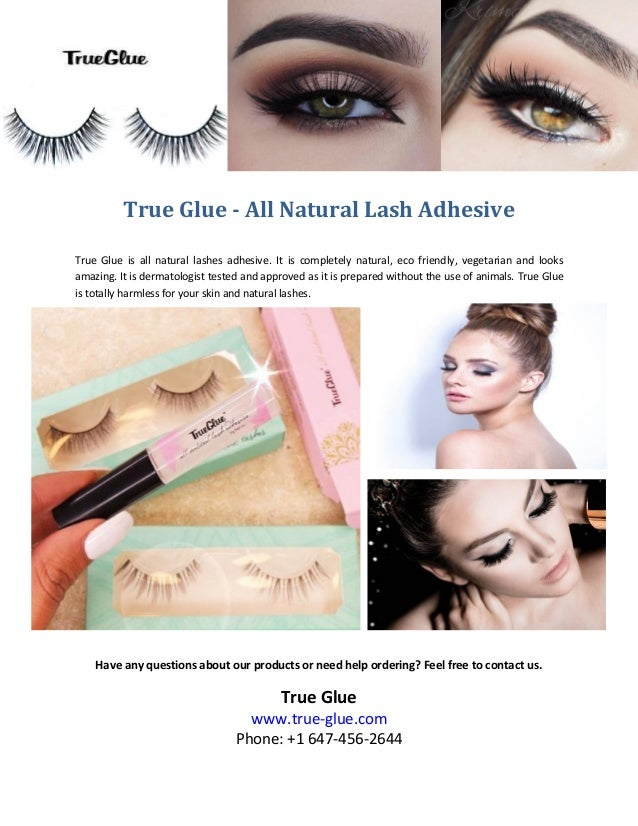a3ef04645af True glue all natural lash adhesive