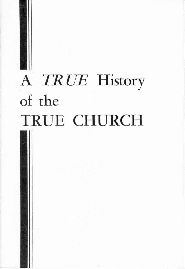 True history of the true church (1959)