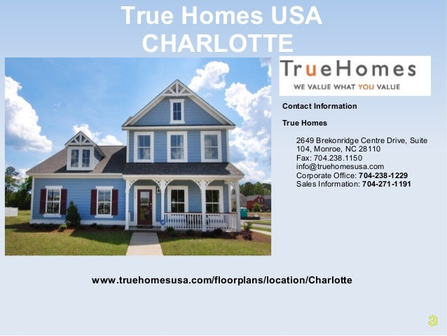 New Homes And Townhomes For Sale In Charlotte NC
