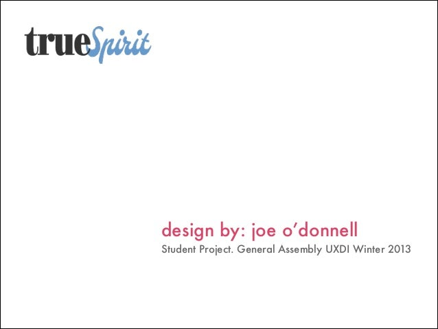 design by: joe o'donnell 