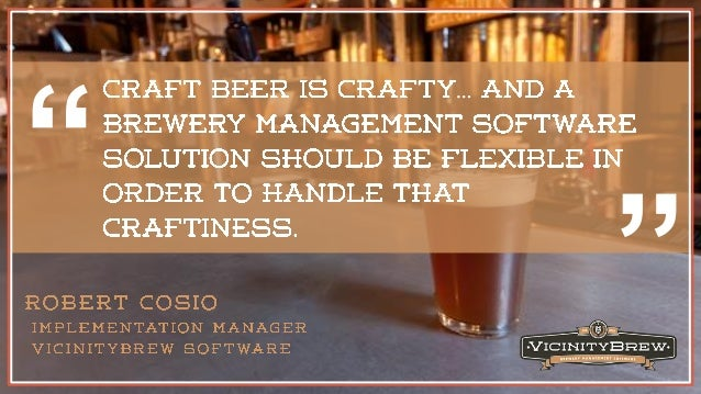 Truly brewery specific software for Brewery layout software