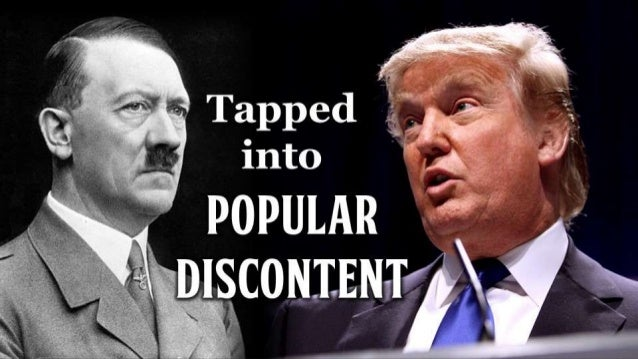 Trump and Hitler Compared