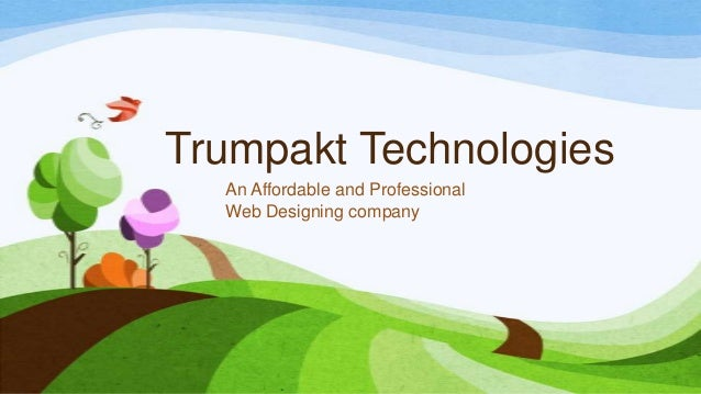 Trumpakt Technologies An Affordable and Professional Web Designing company