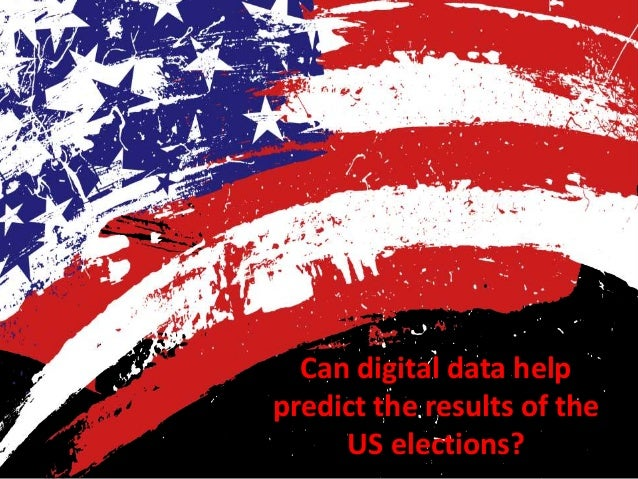 Can digital data help predict the results of the US elections?
