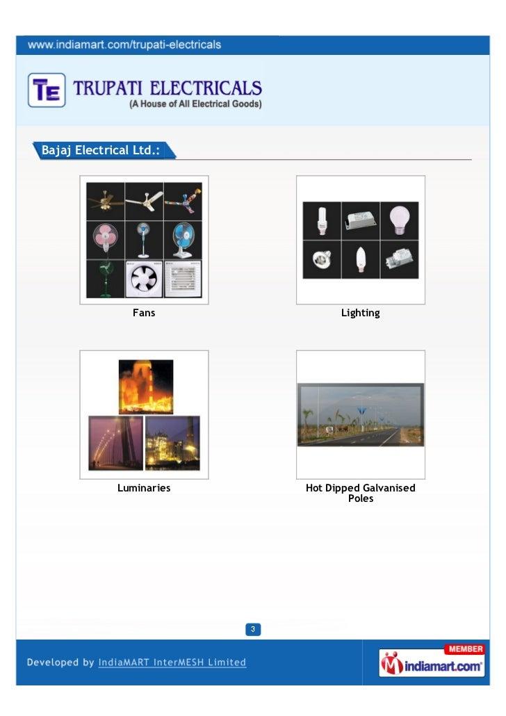 Trupati Electricals, Delhi, Lights and Bulbs Slide 3