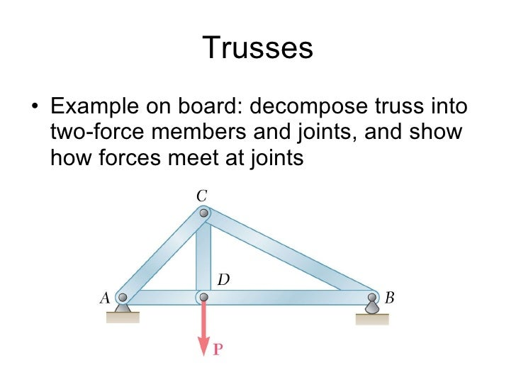 Trusses Frame Machines Analysis