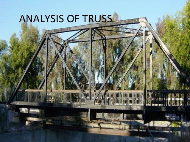 ANALYSIS OF TRUSS
