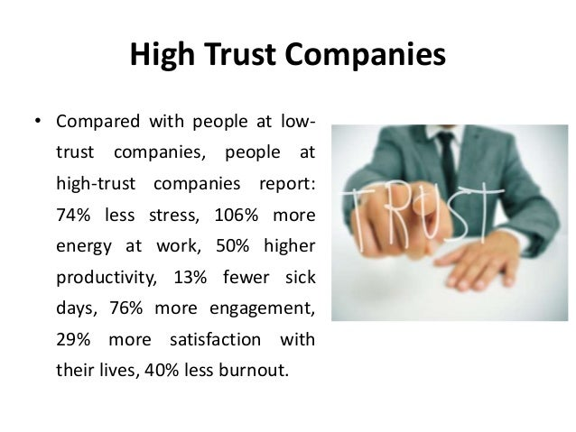 Oxytocin and Trust - Neuro Human Resource Management (NHRM