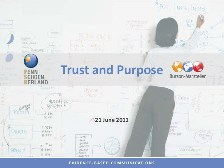 Trust and Purpose<br />21 June 2011<br />