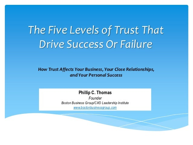 how trust affects interpersonal relationships