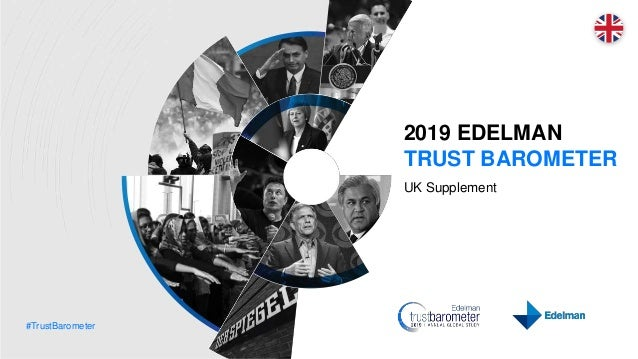 #TrustBarometer 2019 EDELMAN TRUST BAROMETER UK Supplement
