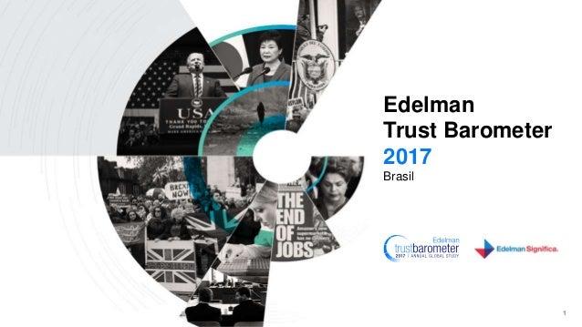 Edelman Trust Barometer 2017 Brasil 1