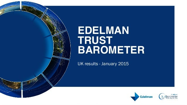 UK results - January 2015 EDELMAN 