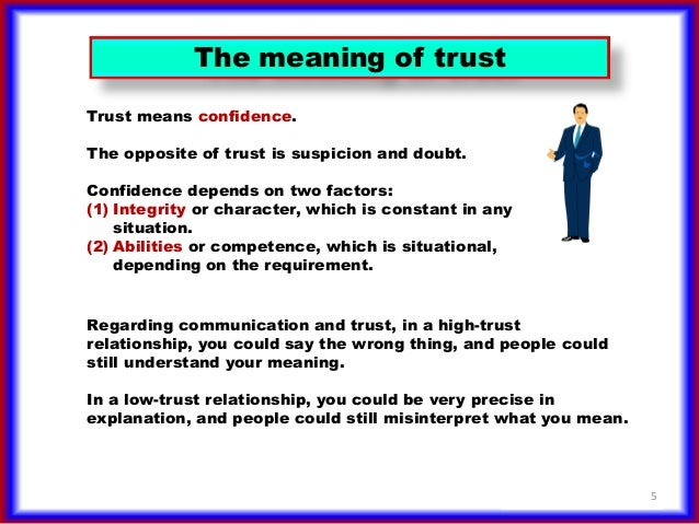 KJV Dictionary Definition: trust