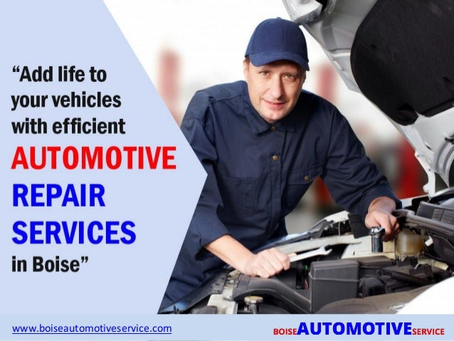 Auto Repair Services >> Trusted And Expert Auto Repair Services In Boise
