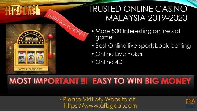 Trusted Malaysia Casino Free Credit 2019