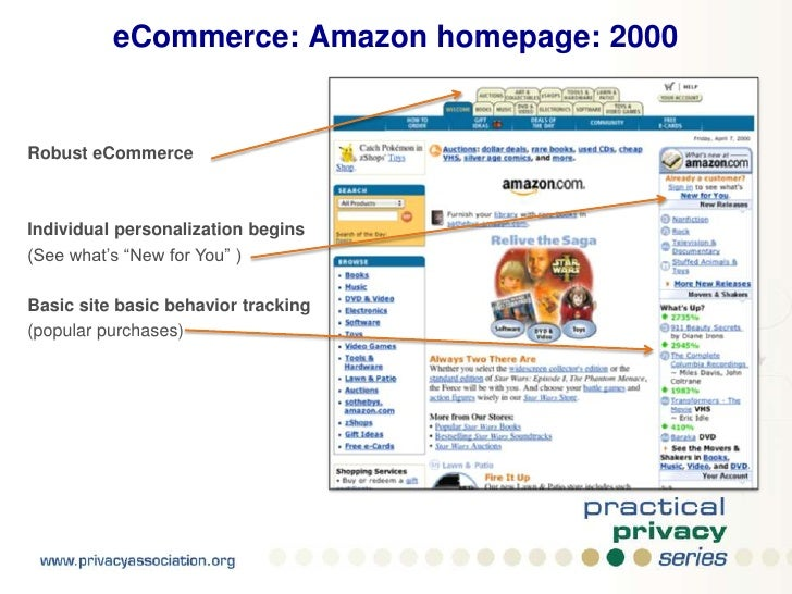 interfaced with few, if any, third parties</li></ul>Example at right: <br />IKEA website circa 1999<br />