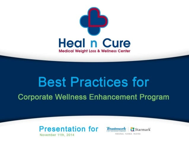 An Overview of Heal n Cure  The Inspire Program  Costs  Inspire Program Complements Corporate Wellness  Presentation of Cl...